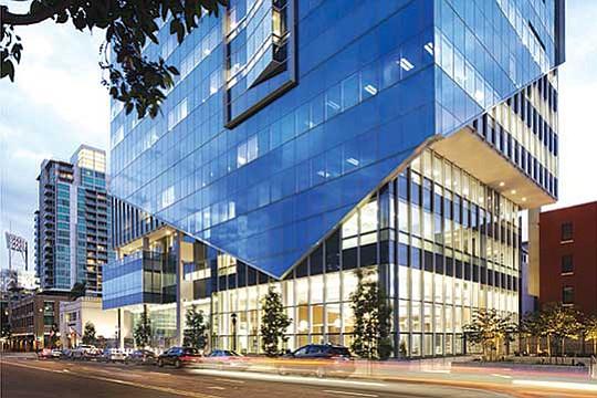 Sempra Energy headquarters in San Diego. Photo courtesy of Sempra