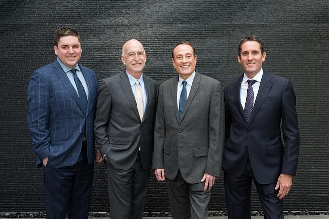 David Eagan, Jeremy Dee, Alan Gecht and Gary Goodgame (photo courtesy of Elaine Lee)