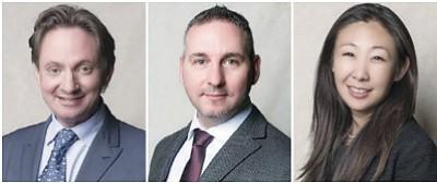 Left-Right: Bert Rasmussen, Christian Scali, Melanie Cliff