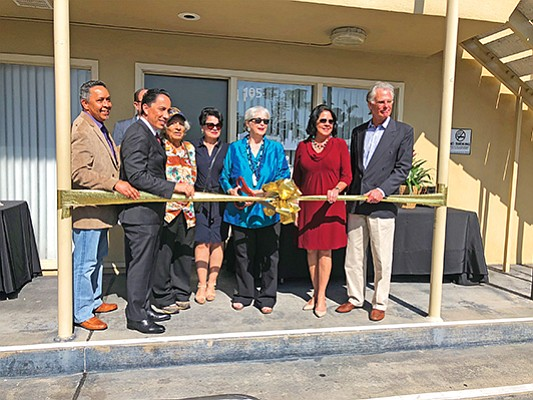 San Diego American Indian Health Center board members join assembly member of the 78th Assembly District, Todd Gloria, second from left, for a ribbon cutting at its new clinic in Bankers Hills. Photo courtesy of San Diego American Indian Health Center