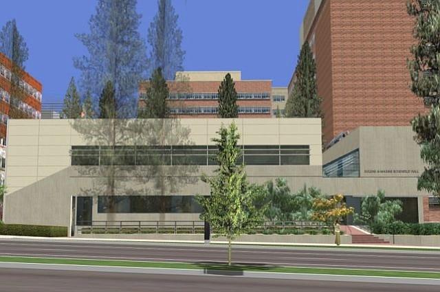 Rendering of UCLA's Rosenfeld Hall