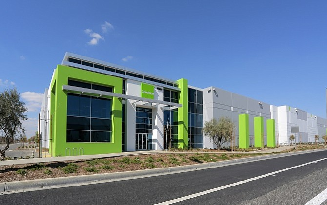 nearly 1m square feet leased at goodman logistics