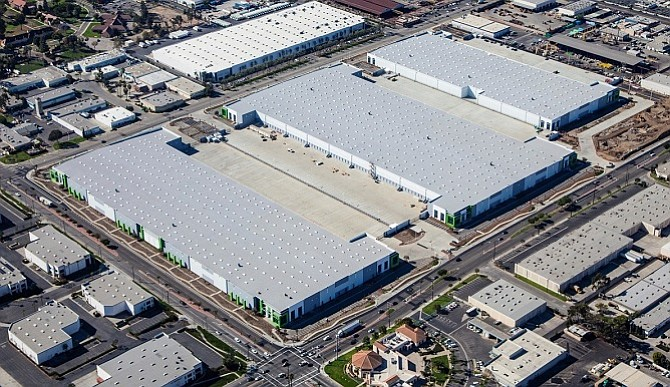 nearly 1m sf leased at goodman logistics