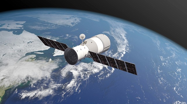 Out of This World: Tiangong 1 in orbit.