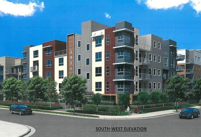 Rendering of 6800 Variel Ave.