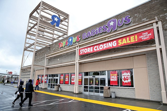 Closing Out: Bankrupt Toys R Us is holding liquidation sales in anticipation of closing stores.