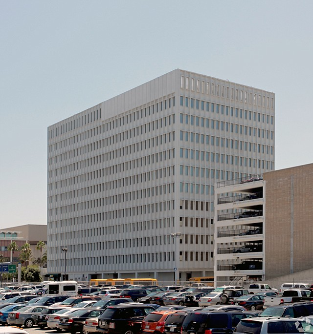 6151 W. Century Blvd.: Hilton Hotels converted office building.