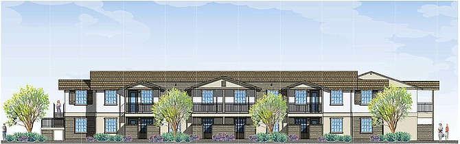 Rendering shows the Schmale Family Senior Residence. Rendering courtesy of Chelsea Investment Corp.