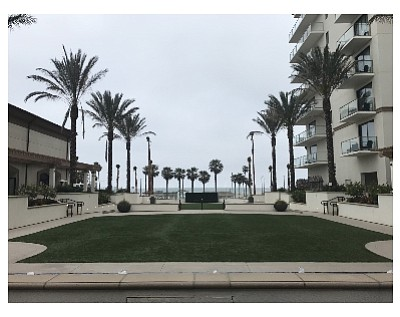 New outdoor event lawn-with-a-view at Waterfront Beach Resort