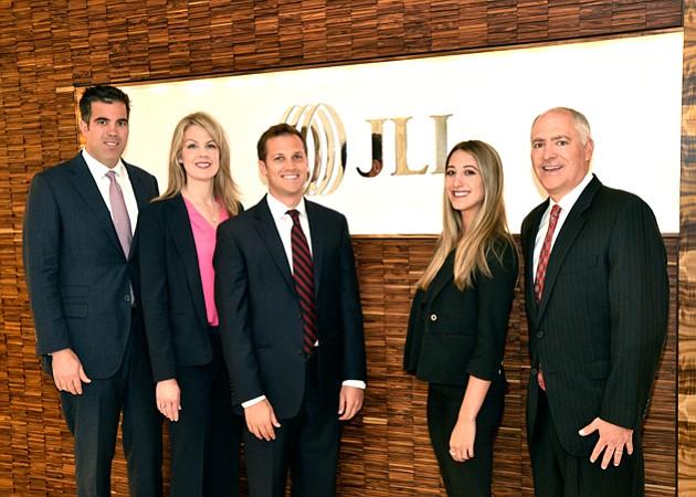 From left to right: Chris Isola, Kellie Hill, Evan Lewitt, Julia Dardick and Bryan Lewitt.