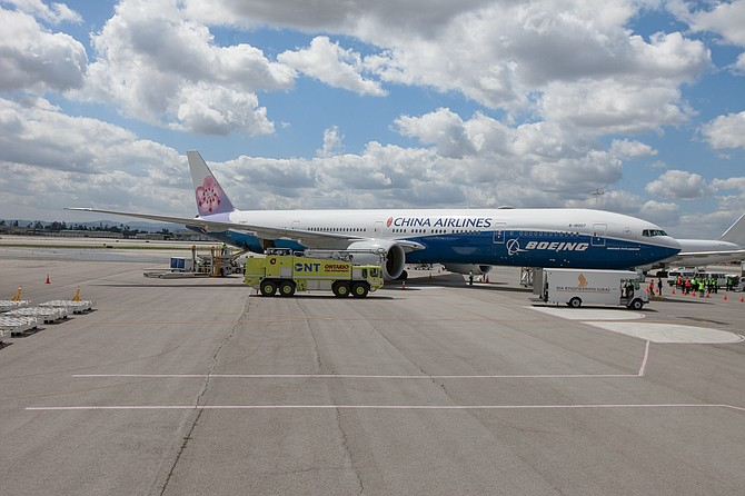Ontario International Airport added a China Airlines daily flight to Taiwan in March.