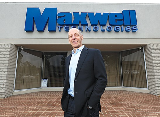 Franz Fink, president and CEO of Maxwell Technologies Inc., based in San Diego, is hopeful he has the company right in the middle of some megatrends that finally kick off.