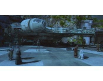Image from Disney video of Star Wars: Galaxy's Edge model