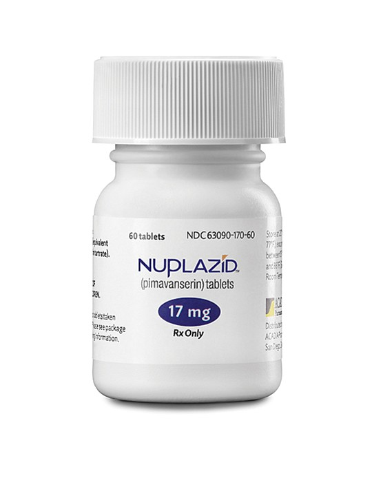 Acadia Pharmaceuticals in 2016 launched Nuplazid, which quells delusions associated with Parkinson's disease. Acadia is among a small crop of San Diego drugmakers that self-commercialized, a counterpoint to the partnering norm. Photo courtesy of Acadia