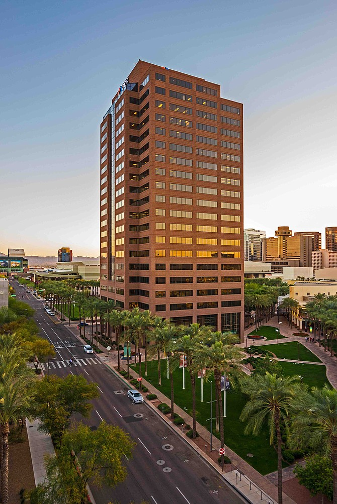 Two Arizona Center Photo courtesy of Parallel Capital Partners
