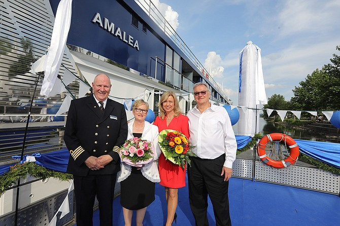 AmaLea christening in Vilshofen, Germany.