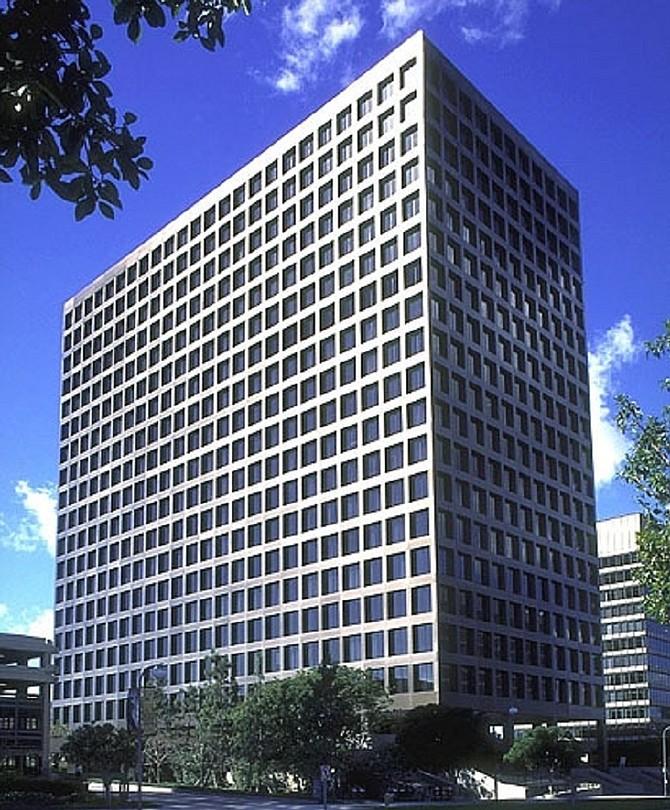 RBC Wealth Management's Century City offices.