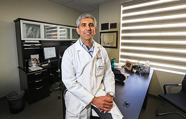 "Customer service isn't just for restaurants. It's important in clinical trials, too. ""It holds true for every business, and we're no different, if you deliver fantastic customer service people will come back,"" said Artemis Institute for Clinical Research CEO Vishaal Mehra at the Hillcrest location."
