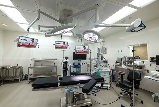 Hospital Expansion: USC's new $100 million Norris Healthcare Center opened in January.