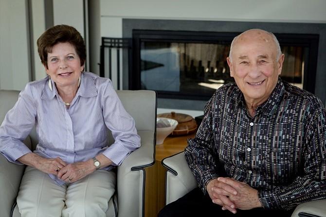 Renee and Meyer Luskin