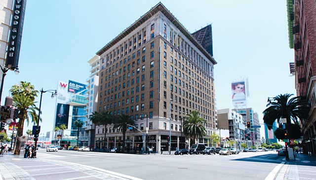 Dazzling Deal: Taft Building at 1680 Vine St. in Hollywood sold for $70 million last week.