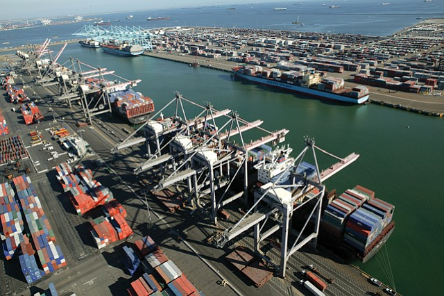 Budget Balance: Port of L.A.'s new budget and strategic plan are part of a goal to update infrastructure at the port.