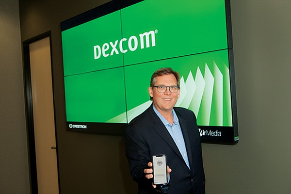 Pictured in this file photo is Kevin Sayer, the CEO of San Diego's Dexcom, a maker of diabetes monitoring technology that's building out its data team. Medical device companies like Dexcom are hiring tech talent in greater numbers.