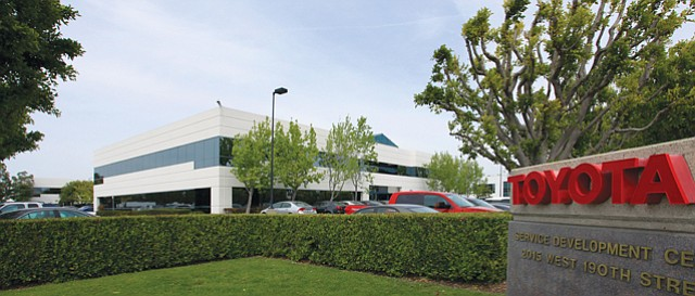 Toyota Campus: Real estate firm Sares Regis plans to redevelop the 2 million square feet of office and industrial land in Torrance.