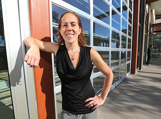 Samantha Urban, founder and CEO of Urban Translations, said the company expects to receive $750,000 in income tax credits. File Photo by Jamie Scott Lytle