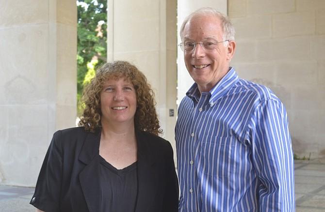 Sarah Tolbert and Bruce Dunn