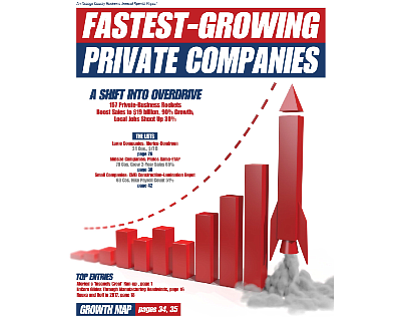 Last year's edition: featured 157 companies with growth rate of 15% or higher