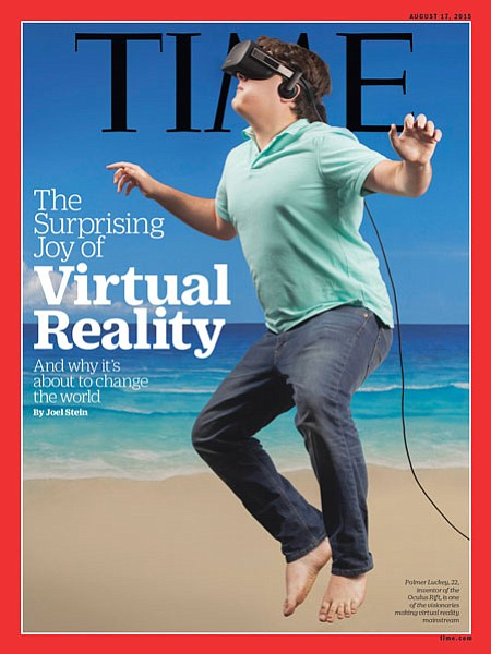 Luckey: Made cover of Time with Oculus in 2015, now has Anduril Industries focused on defense sector.