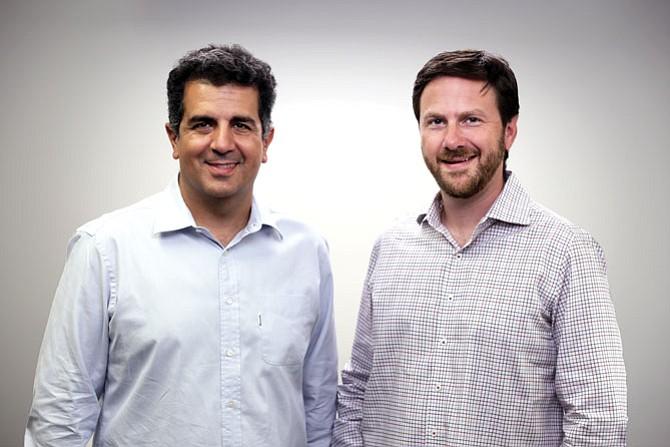 Openpath founders Alex Kazerani and James Segil.
