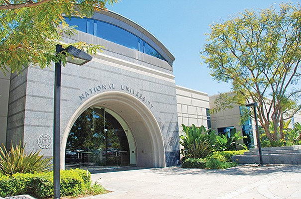National University has offices and classrooms in Kearny Mesa's Spectrum Business Park. Parent National University System is acquiring Northcentral University. Photo courtesy of National University System