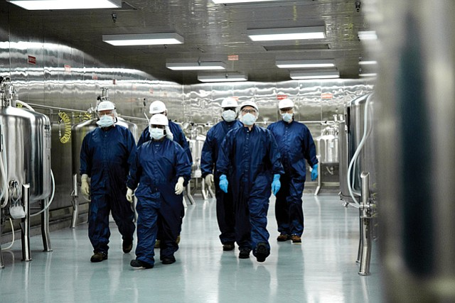 Job Diversity: Manufacturing facilities, such as Grifols Biologicals in El Sereno, are part of a growing local bioscience industry.
