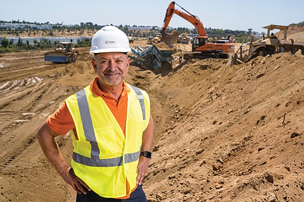 Badiee Development Inc. has experienced significant growth through industrial projects in North County, but founder Ben Badiee says the company is looking at possibly developing residential or mixed use projects in other parts of the region.