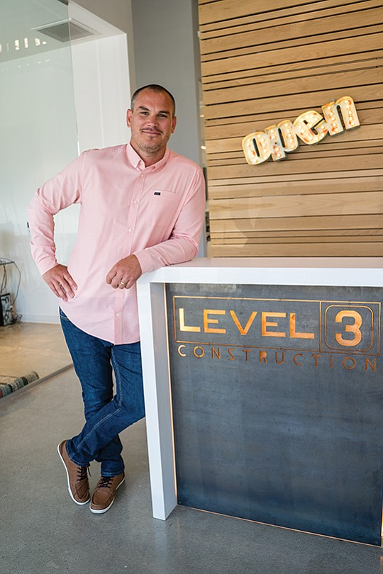Ian Mahon founded Level 3 Construction in Vista in 2006, and the company has seen significant growth in recent years with contracts to build two major ground-up projects in North County.