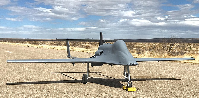 Cubic Corp. has acquired the San Diego business that builds the Ares unmanned aircraft. Photo courtesy of Cubic Corp.
