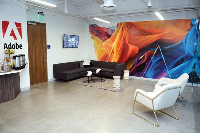Adobe Systems Inc. office in Santa Monica.