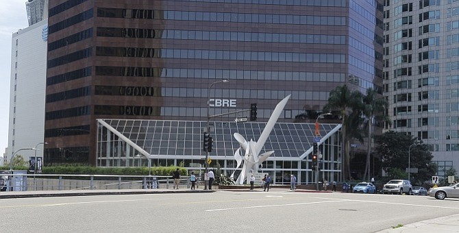 CBRE Group Inc. headquarters at 400 S Hope St.