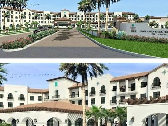 Renderings of Camarillo Conference Center.