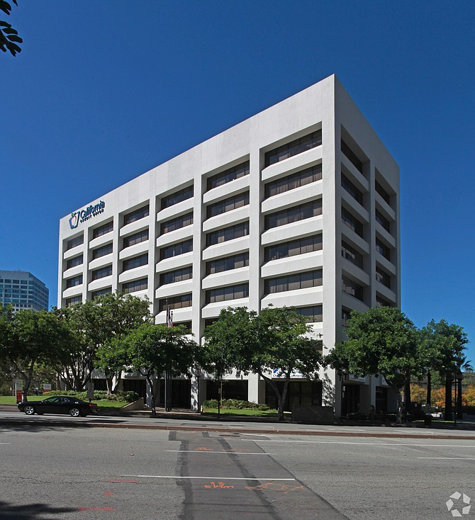 Colliers office at 701 N. Brand Blvd. in Glendale.