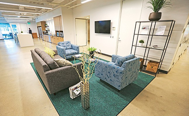 Nonprofit incubator EvoNexus is now taking an equity stake in its participating startups. The group has offices in La Jolla, above, and in Irvine. Photo courtesy of EvoNexus