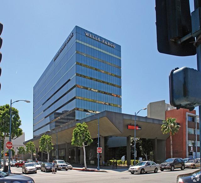 443 N. Camden: Tallest office building in Beverly Hills.