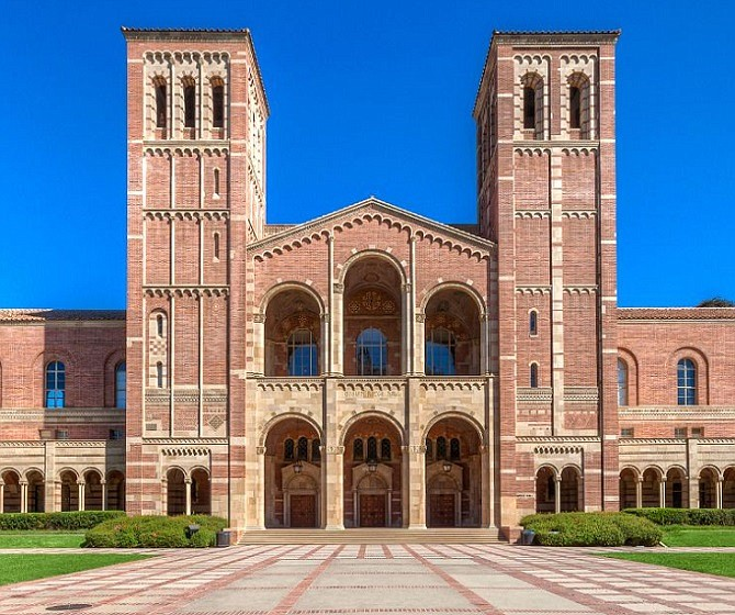 UCLA's Royce Hall