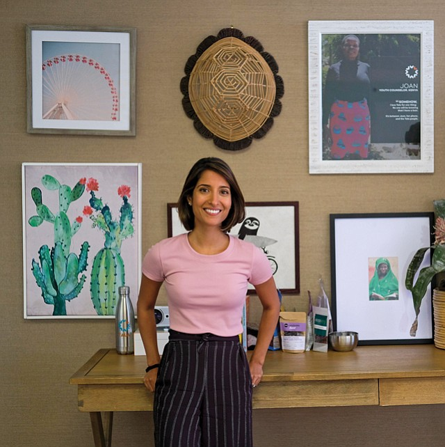 Finance Entrepreneur: Former financial analyst Shivani Siroya got into microfinance after spending two years working for United Nations.