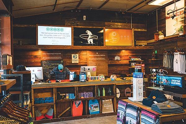 Everyday California flagship store in La Jolla Shores. Photo courtesy of Everyday California