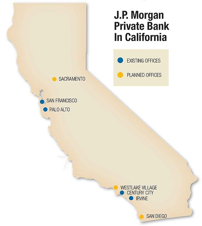 J.P. Morgan Private Bank In California