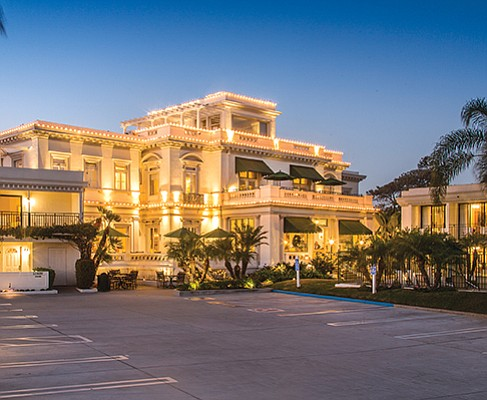 Coronado's historic Glorietta Bay Inn has been sold for $39 million to a hotel company based in the Los Angeles suburb of Cerritos. Photo courtesy of Atlas Hospitality Group