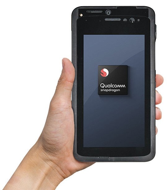 San Diego-based Qualcomm used this mobile test device on Sept. 6 to place the first over-the-air 5G call using the millimeter wave spectrum. Photo courtesy of Qualcomm Inc.